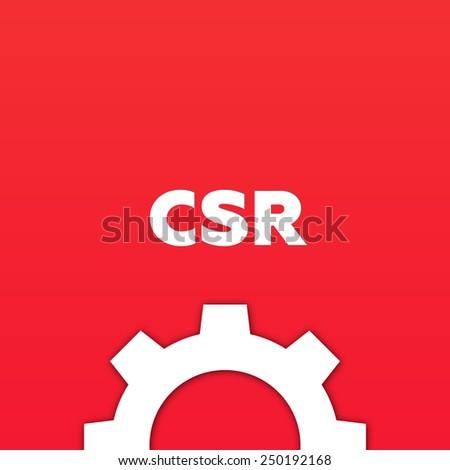 CSR - stock photo