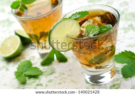 Cuba Libre - stock photo