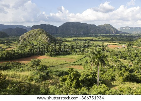 Cuba, Vinales Valley - stock photo