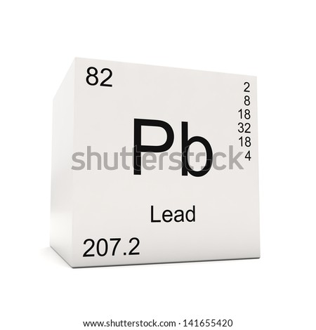 Lead symbol pb element periodic table stock illustration 106733897 cube of lead element of the periodic table isolated on white background urtaz Gallery
