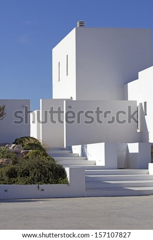 cubic luxury hotel in paros greece