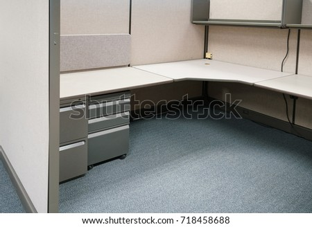 cubicles inside office building place of work