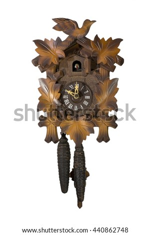 Cuckoo Clock from Switzerland - stock photo