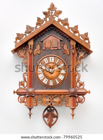 Cuckoo Clock From The Black Forest, Germany