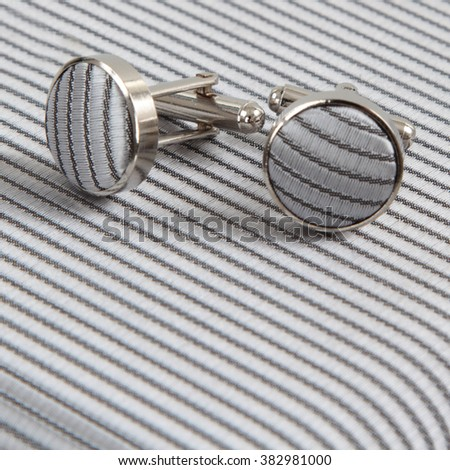 Cufflinks - stock photo