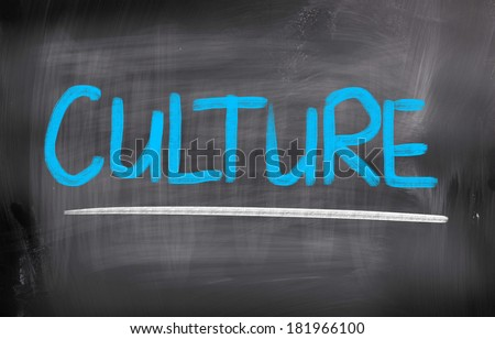 Culture Concep - stock photo
