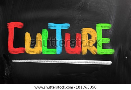 Culture Concept - stock photo
