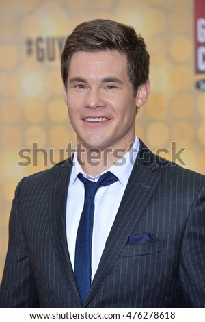 CULVER CITY, CA. June 4, 2016: Actor/singer Adam Devine at Spike TV's 10th Annual Guys Choice Awards at Sony Pictures Studios, Culver City, CA.