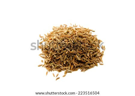 cumin seed - stock photo