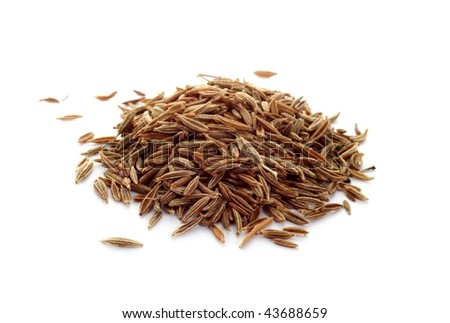Cumin seeds - stock photo