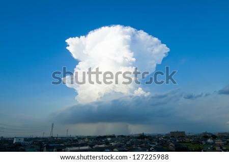 Cumulonimbus - stock photo