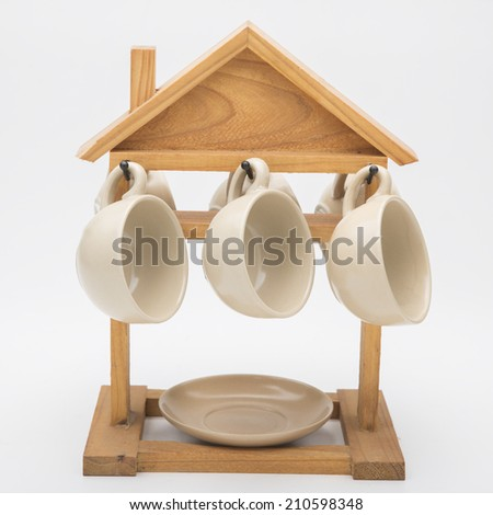 cup coffee isolated - stock photo