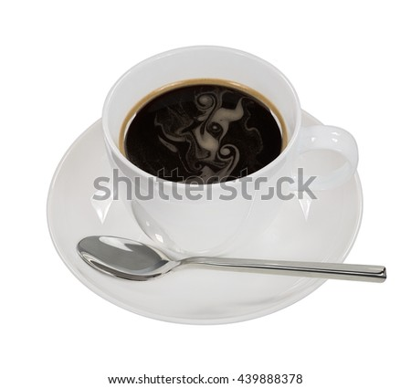 Cup of fresh coffee