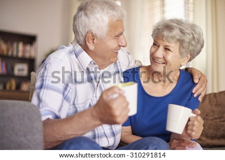 Cup of hot coffee always make us better - stock photo