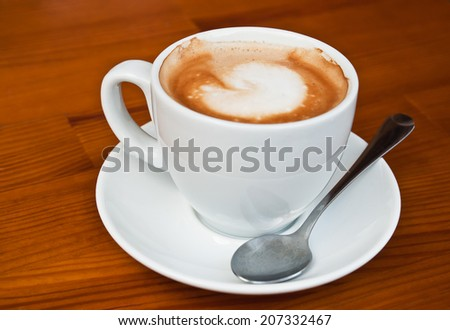 cup of hot coffee (americano)