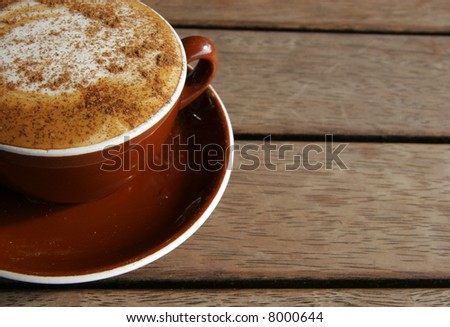 Cup of Java - stock photo