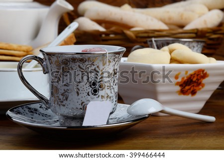 Cup of Tea / Cup of Tea / Cup of Tea - stock photo