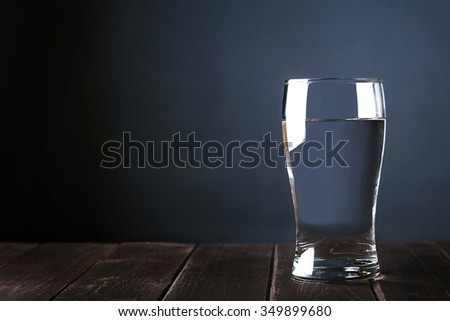Cup of water - stock photo