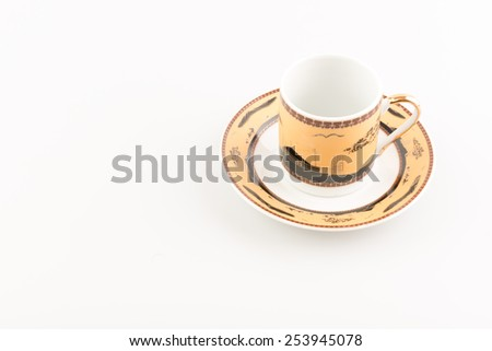 Cup with decoration