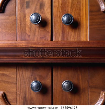 cupboard - stock photo