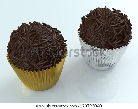 Cupcake - Brigadier - stock photo