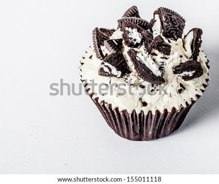 Cupcake cookies. - stock photo