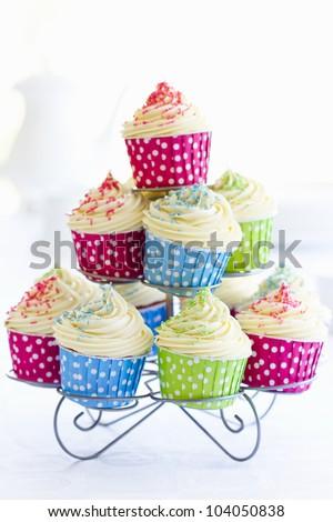 Cupcakes - stock photo