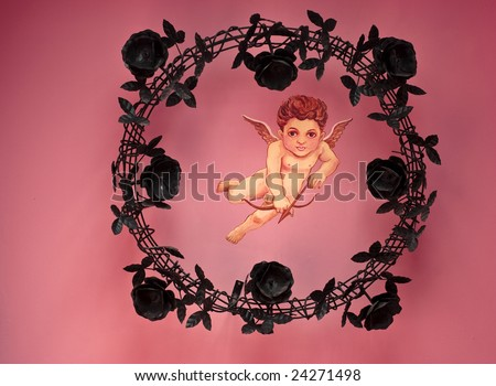 cupid 2 - stock photo