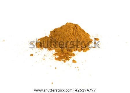 curcuma powder for food supplement