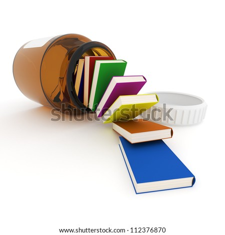 Cure for stupidity - stock photo