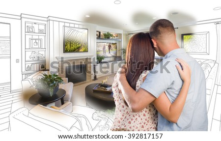 Military draft stock images royalty free images for Young couple living room ideas