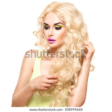 Lady With Blonde Hair 17