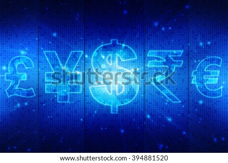 Currencies - stock photo