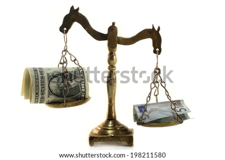 currency rate - stock photo