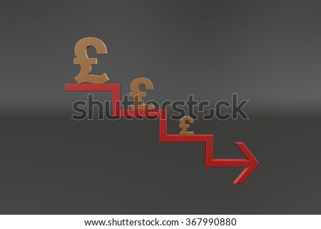 Currency symbol and symbols and Currency arrow trapezoidal
