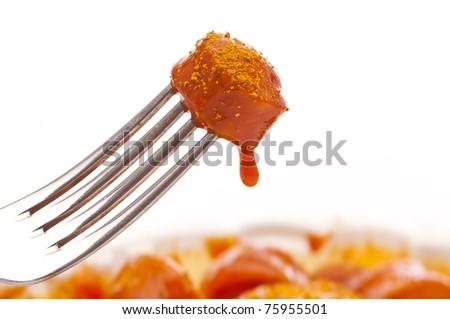 Curry-Wurst - stock photo