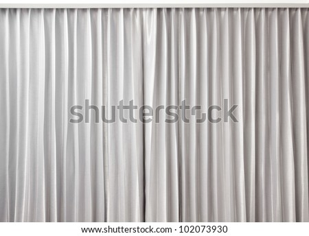 curtain grey color - stock photo