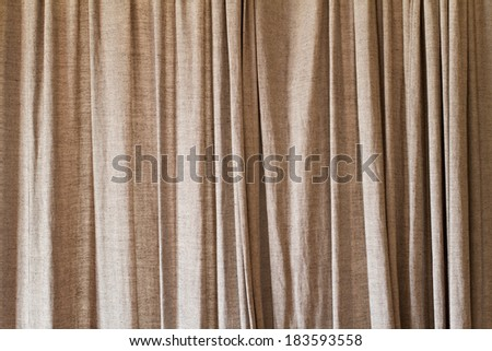 curtain or drapery background, vintage style - stock photo