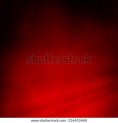 Curtain red abstract web template background - stock photo