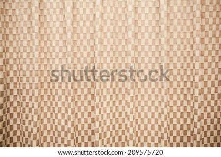 curtain wallpaper - stock photo