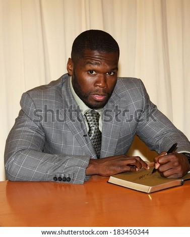"Curtis 50 Cent"" Jackson at in-store appearance for THE 50TH LAW Book Signing by 50 Cent, Barnes and Noble Book Store, New York, 2009"