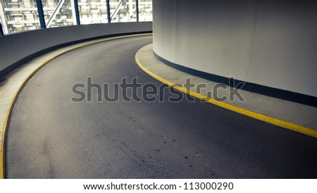 curve - stock photo