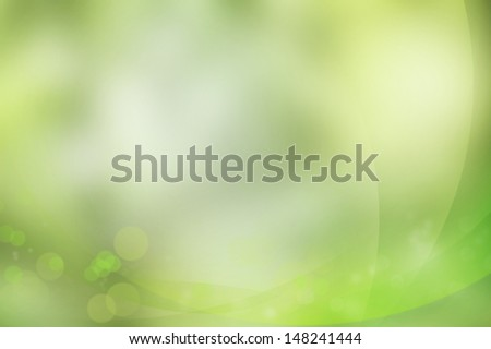 Curved lines and circles background - stock photo