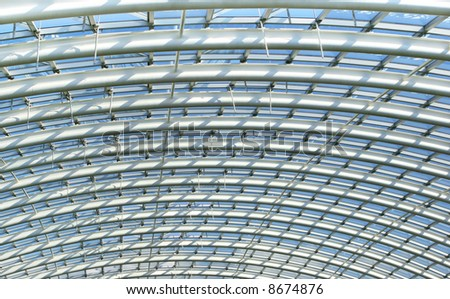 Curved Reinforced Steel Roof Joists Conservatory Stock