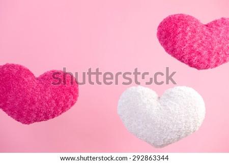 Cushion of the heart - stock photo