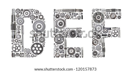 Metal Block Letters Cool Custom Metal Block Letters Made Out Stock Photo 120157873 Decorating Design