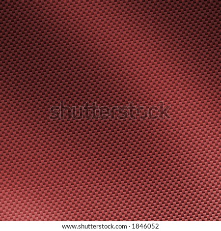 custom red carbon fiber background / texture / pattern - stock photo