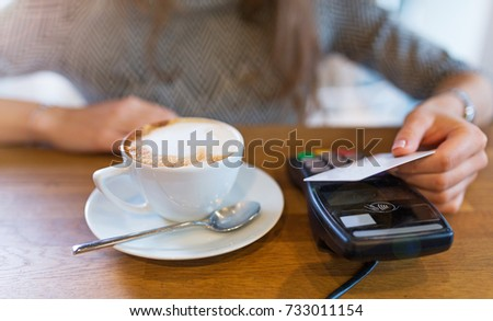 Customer Paying Through Credit Card
