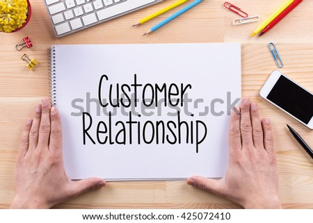 Customer Relationship Concept - stock photo