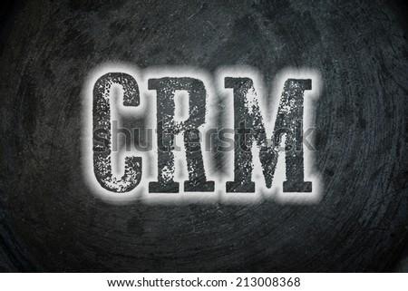 customer relationship management (CRM) - stock photo